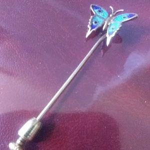 Jewelry - 1960s Butterfly Pin